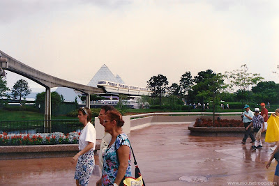 Epcot 1993 Future World Monorail Journey Imagination