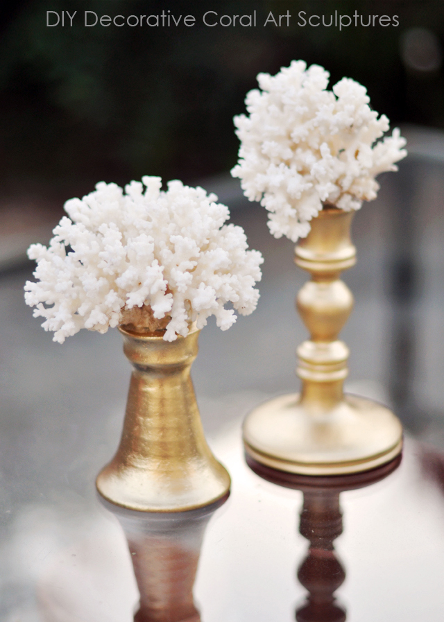 DIY gifts, Coral Decorative Art Sculptures