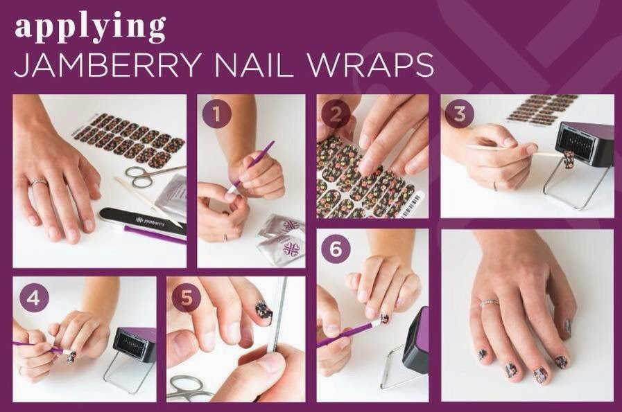 Instructions on how to apply your Jamberry Wraps! | Val\'s Nail Art ...