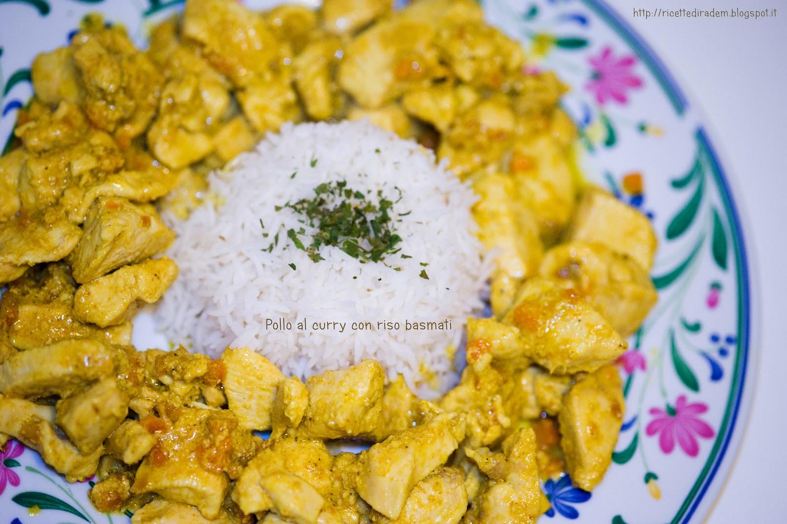 Ricetta pasta con pollo al curry