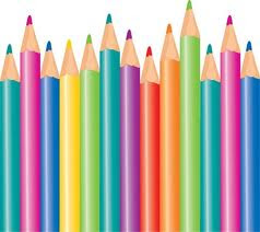 lapices de coloreas para preescolar