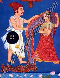 Dussashan unveils Draupadi
