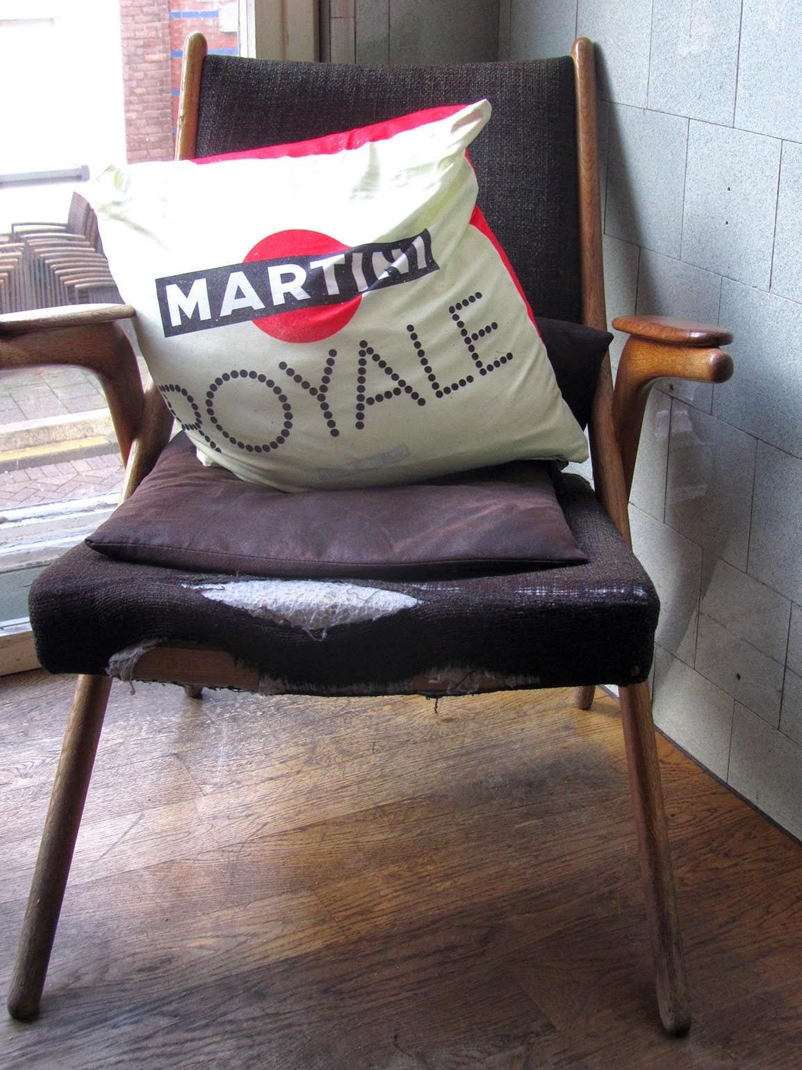 pillow case Martini Royale