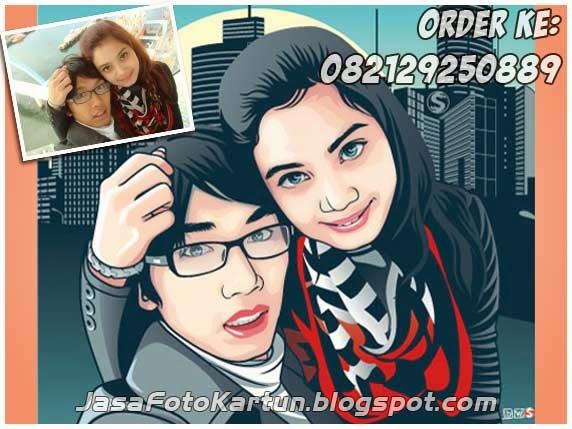 Foto Kartun Wajah - Kitty & Gama