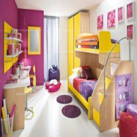 غرف نوم اطفال 2013 بالوان جديدة