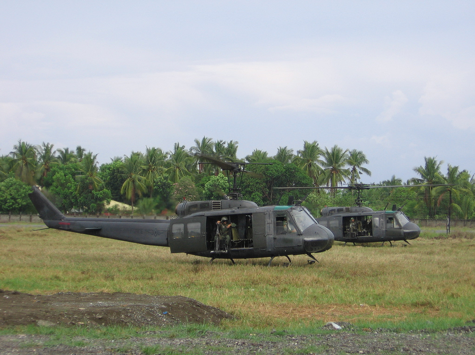 10 of 21 Refurbished 'Huey' Helicopters Now in Philippines