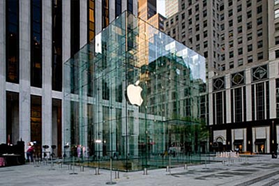 Fifth Avenue Apple Store in New York,