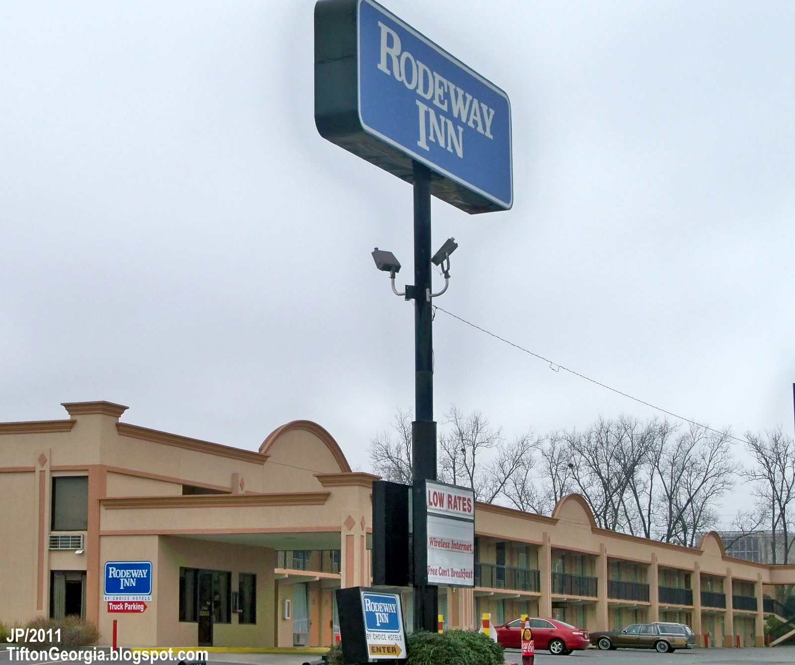 Rodeway Inn Hotel Tifton Georgia Highway 82 West Lodging Ga