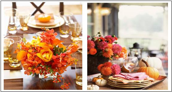 Cheap thanksgiving table decoration photograph via cheap d for Inexpensive thanksgiving table decorations