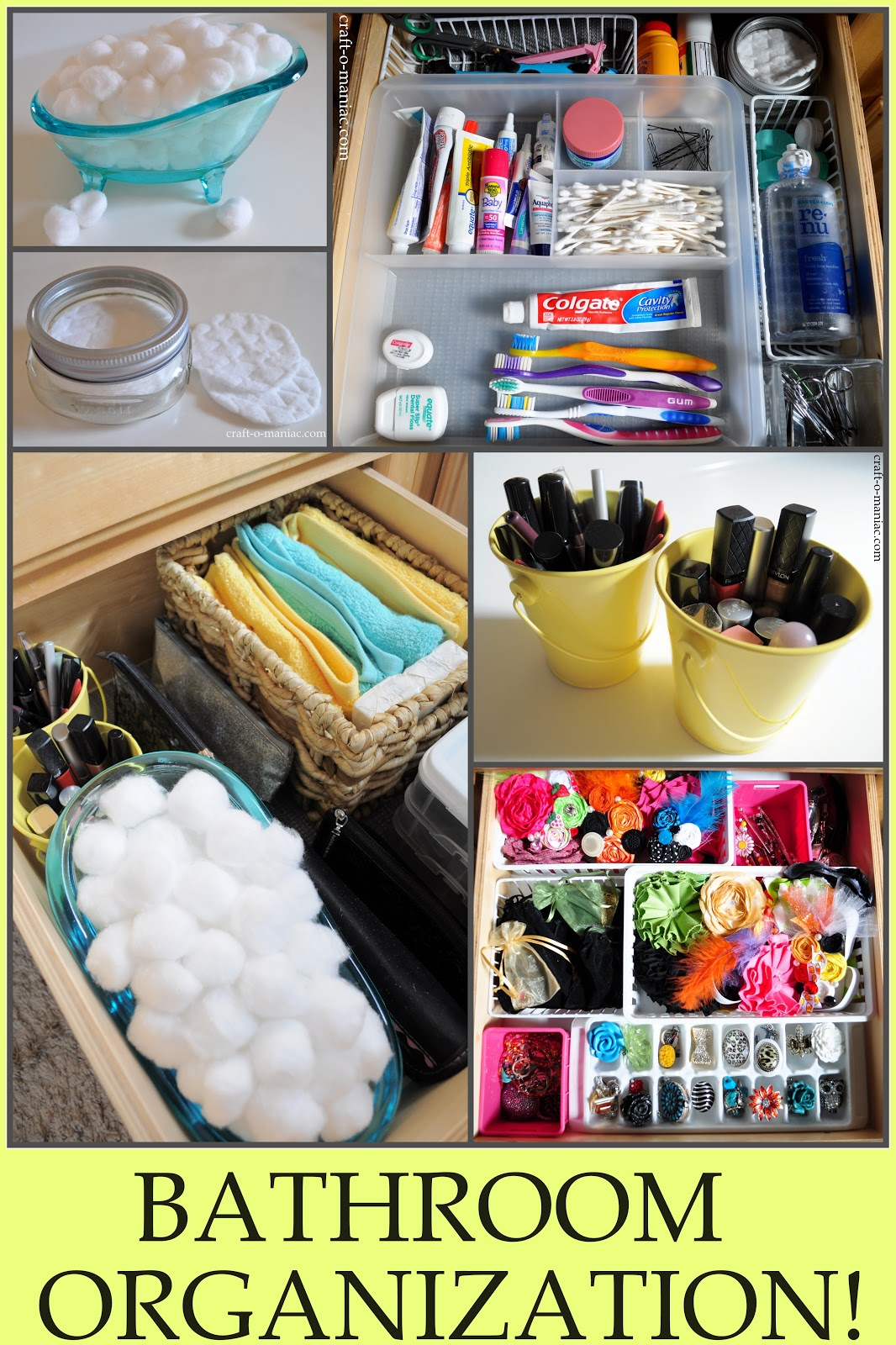 Bathroom Organization Ideas Plus a $50.00 dollar gift card ...