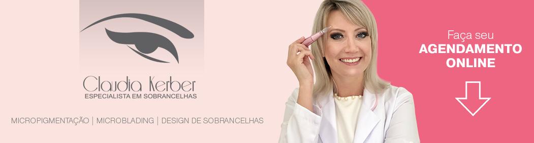 Claudia Kerber - Tudo em sobrancelhas. Design de Sobrancelha - Florianópolis - SC