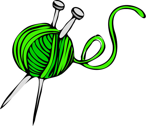 Cartoon Knitting Patterns : All Cliparts: Knitting Clipart