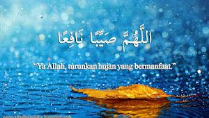 Doa yang Dibaca Rasulullah Ketika Hujan Turun