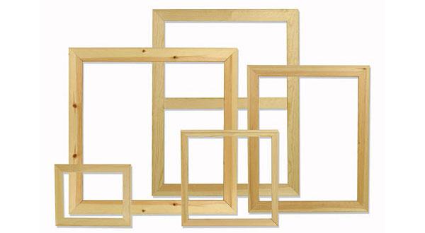 bastidor de madera lona objetivo 3 0