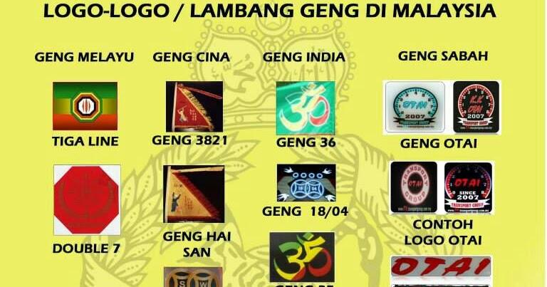 logo 49 geng kongsi gelap di malaysia coretan anuar