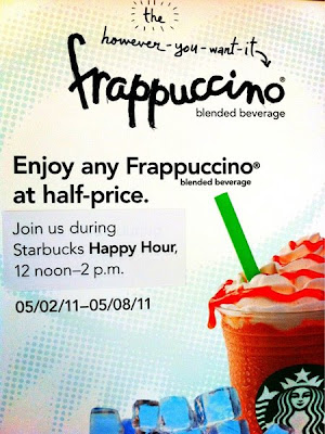 Starbucks Happy Hour!