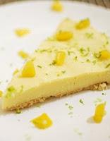 Torta Gelada de Pêssego (vegana)