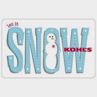 Enter to win the Let It Snow $100 Kohl's Gift Card Giveaway. Ends 1/17/14.