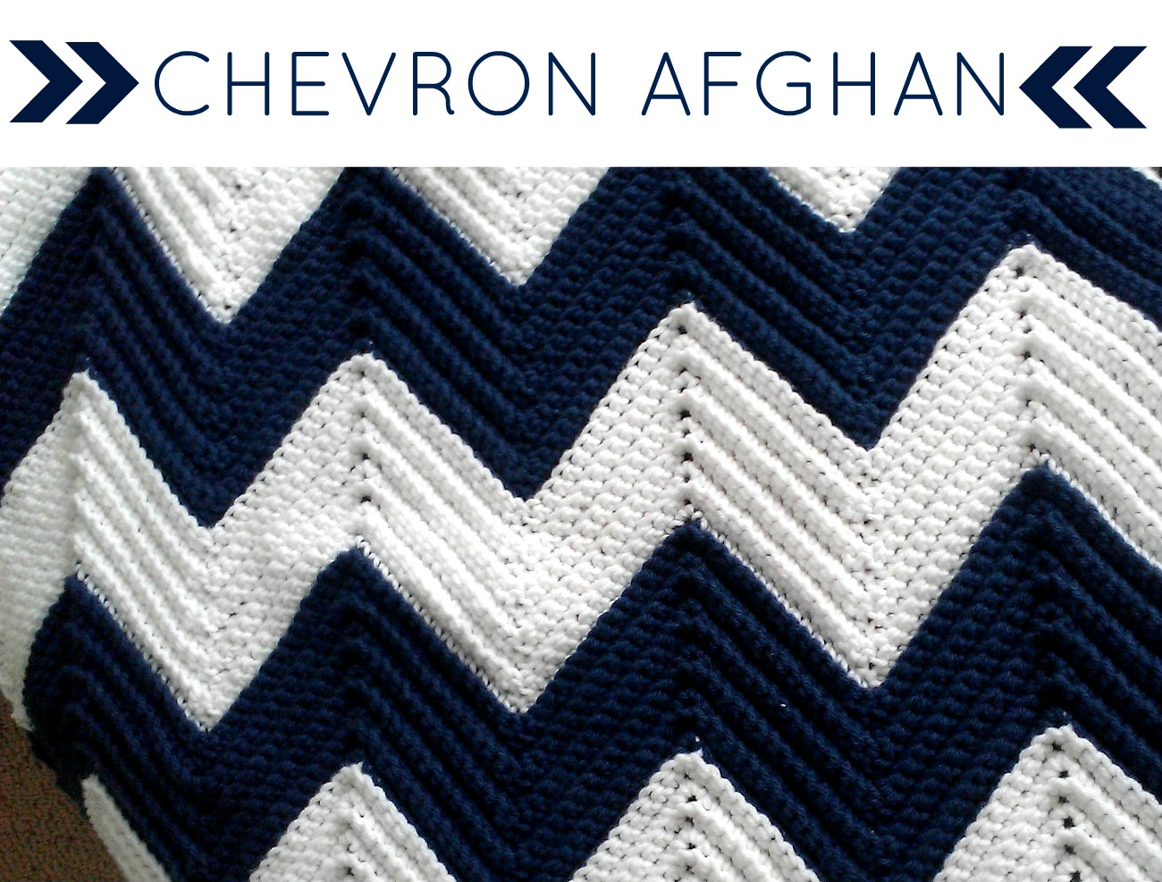 Chevron Knitting Pattern Afghan : All Things Bright and Beautiful: A Gift of Love: Chevron ...