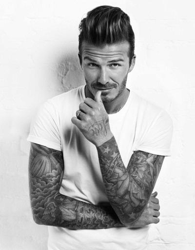 David Beckhams Pompadour Hairstyle Inhaircuts