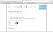 Ultima versão do Silhouette Studio (SE/SDE)