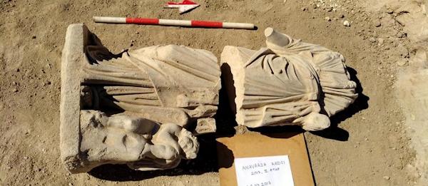 Τουρκία: Ανακάλυψη εντυπωσιακού ελληνικού αγάλματος της θεάς Υγείας