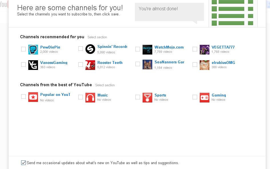 cara membuat akun youtube 2