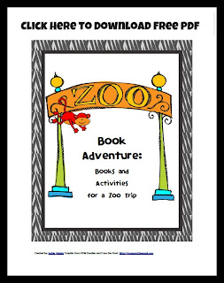 Photo Free PDF Zoo Themed Learning Activities for preschoolers