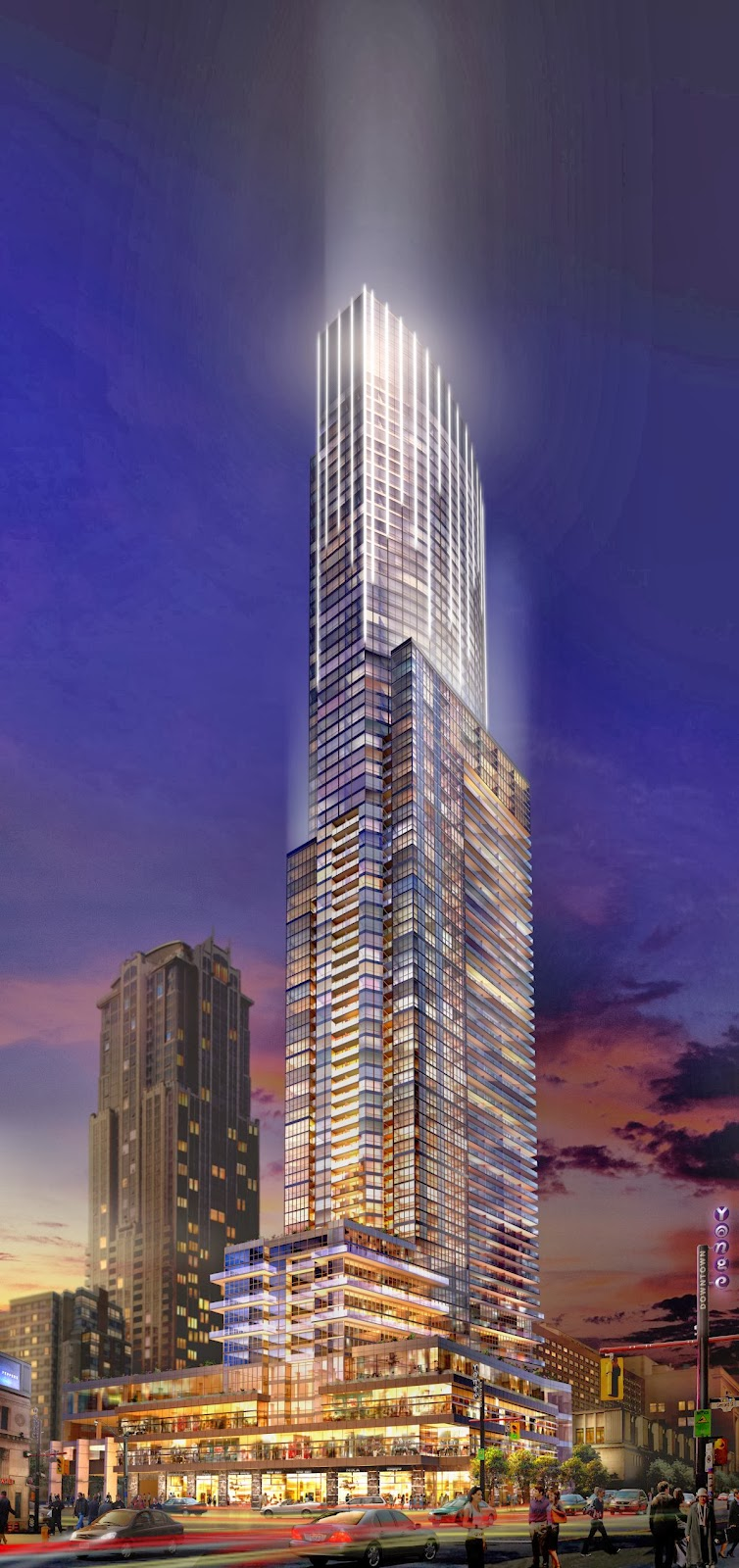 Aura Condos Toronto For sale or rent.