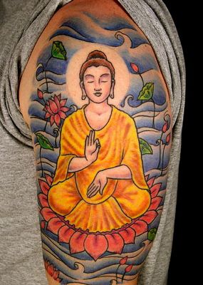 Buddha Tattoos Often Carry Deep Meaning For The User And The