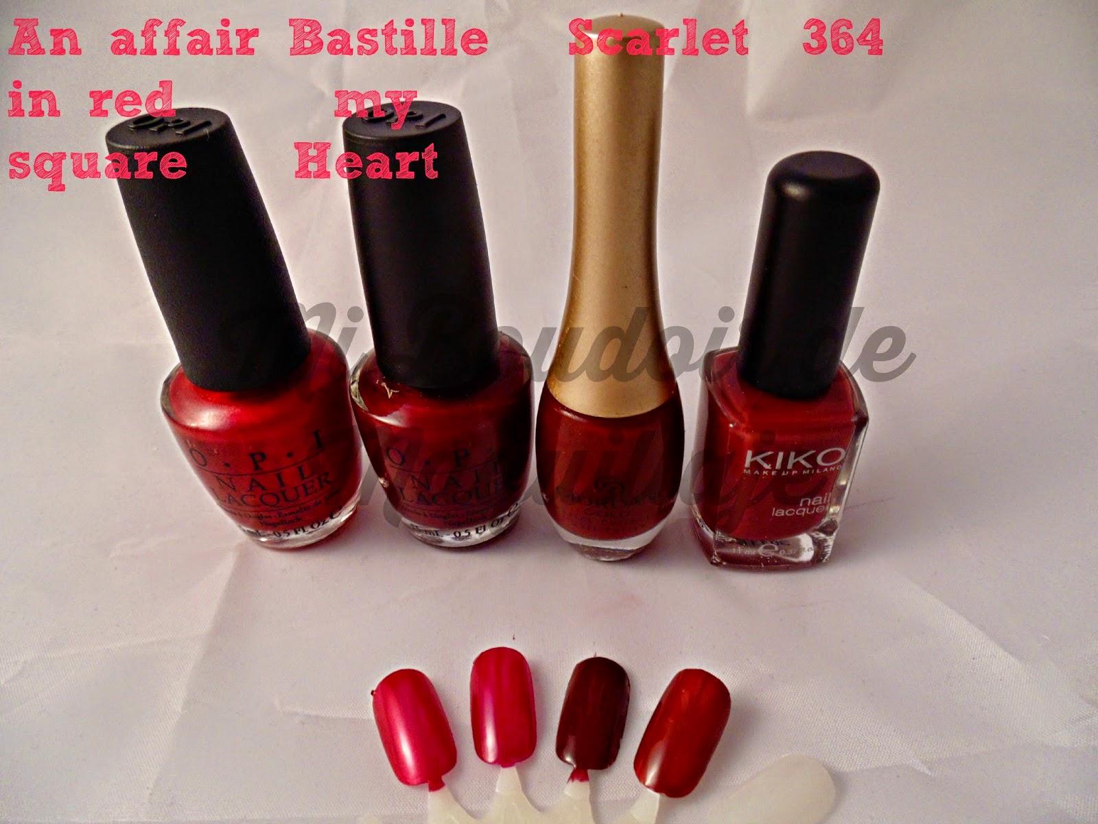 Opi Oriflame Kiko nails laca de uñas