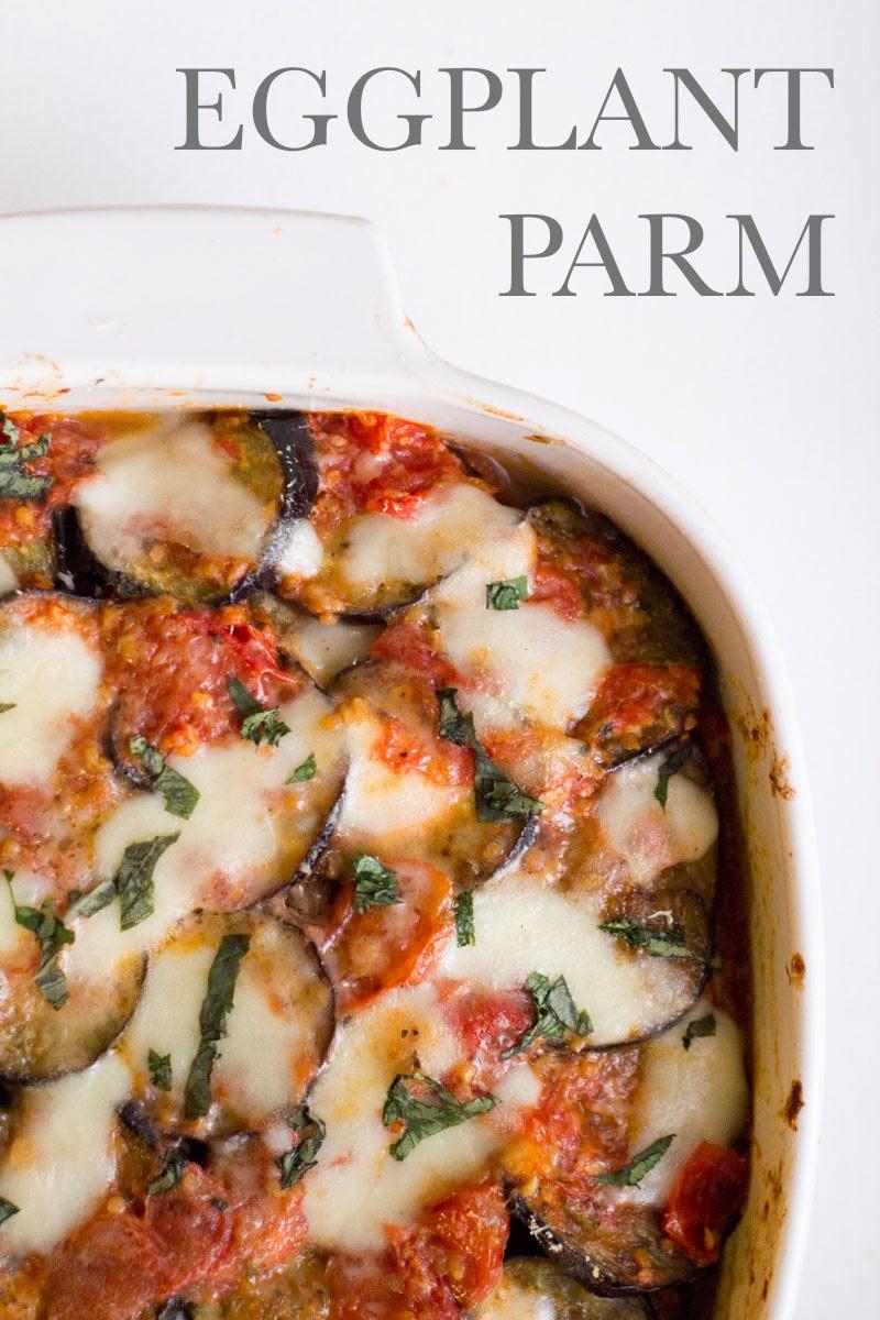 italian eggplant parmesan