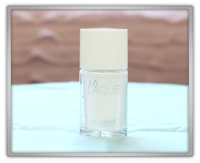 NON Asian Bourjois beauty products Haul Review 2015 blogger La Laque T01 white spirit shine high opaque true epic nail polish