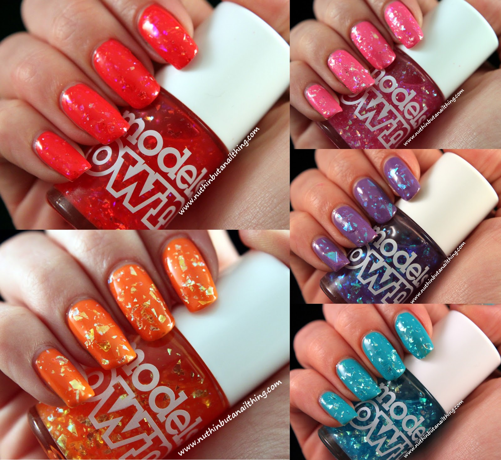 nuthin\' but a nail thing: Models Own Splash Collection Swatches