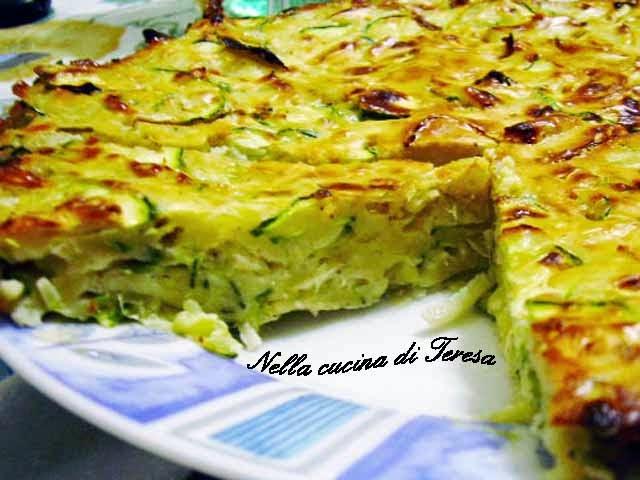 Nella cucina di teresa zucchini pie - Nella cucina di teresa ...