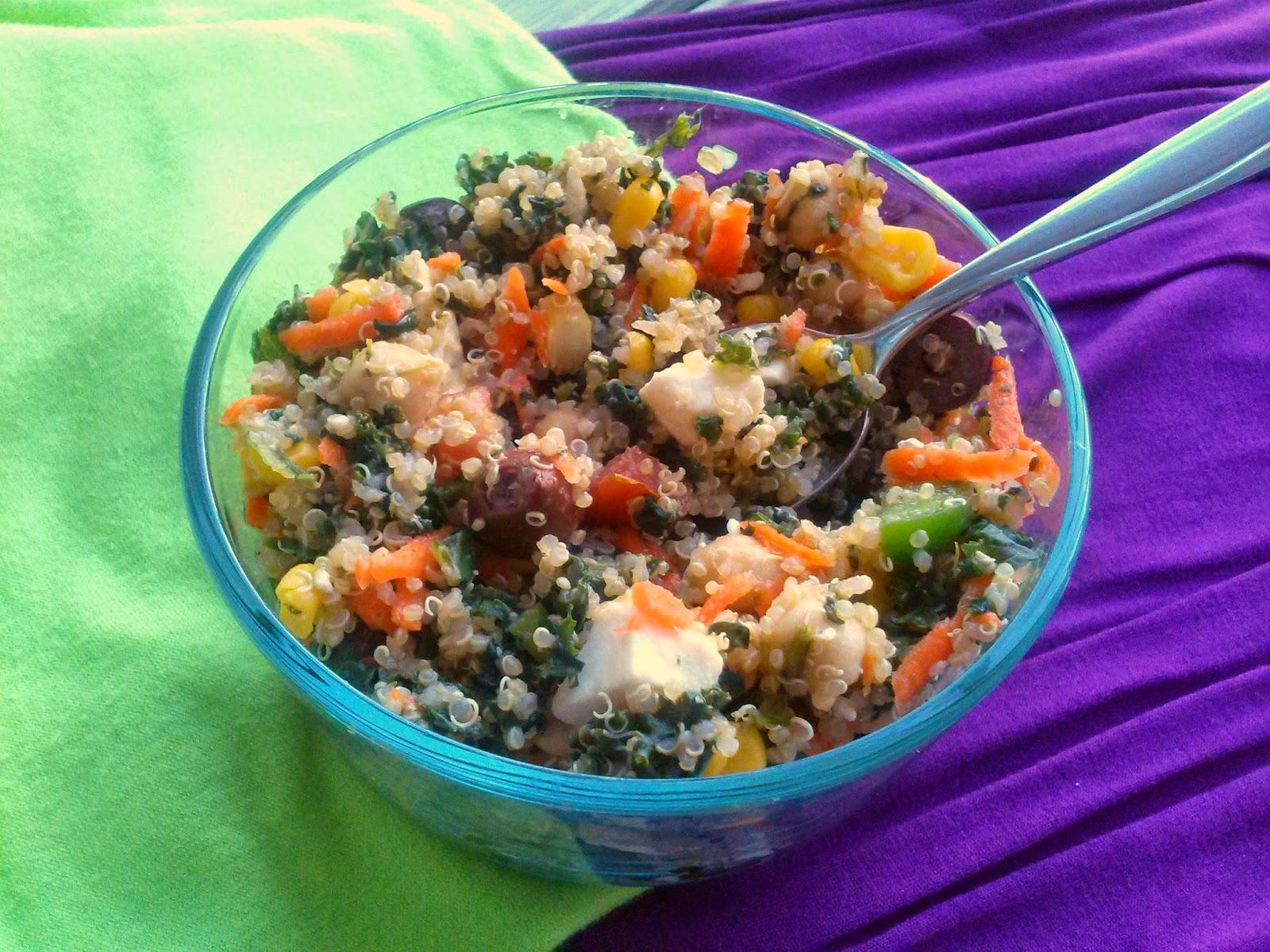Veggie Quinoa Salad  l  Love.Bake.Read