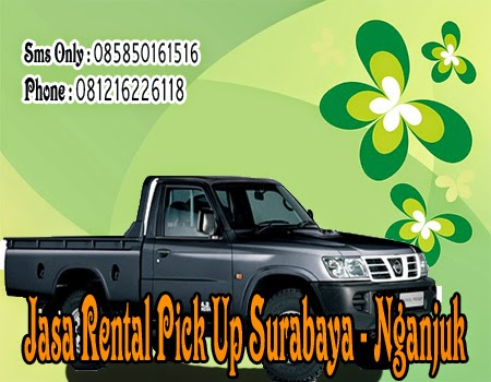 Jasa Rental Pick Up Surabaya - Nganjuk