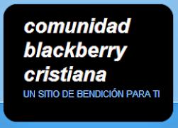 COMUNIDAD BLACKBERRY CRISTIANA