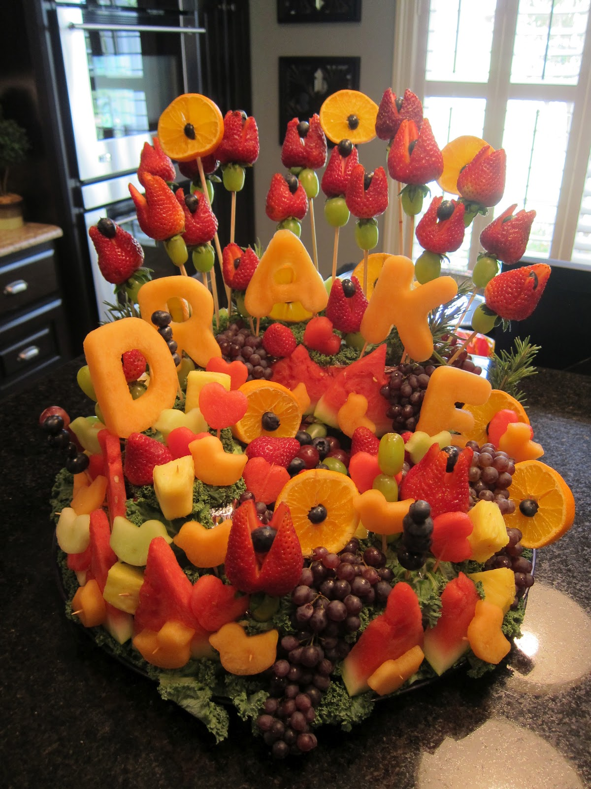 baby shower fruit tray ideas table decorations trend home design and