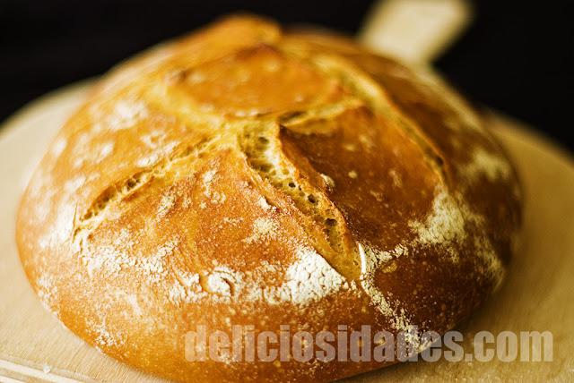 deliciosidades - Hogaza trigo y centeno pseudogallega