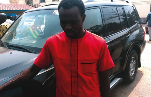 Meet The Pastor Arrested For Buying Stolen SUV For N350k & Wants Another Camry For N250k (Photo)