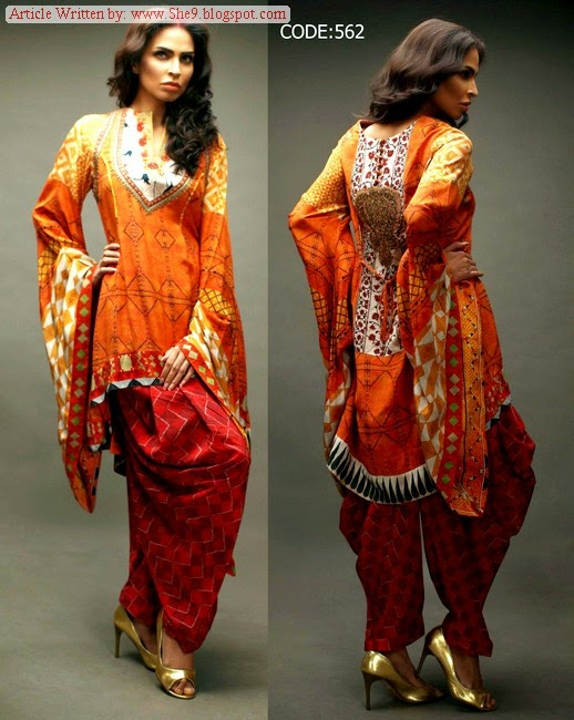 Shamaeel Ansari Festive Eid Collection 2014