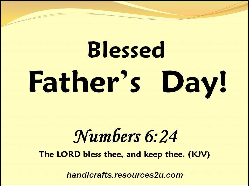Believers Encouragements: Father's day card templates free bible verse