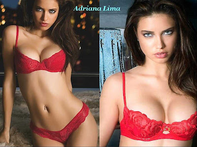 red hot adriana lima