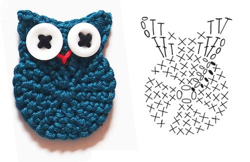 Free Owl Crochet Pattern Chart
