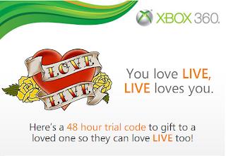 Gratis 48 horas Xbox Love Live en Facebook