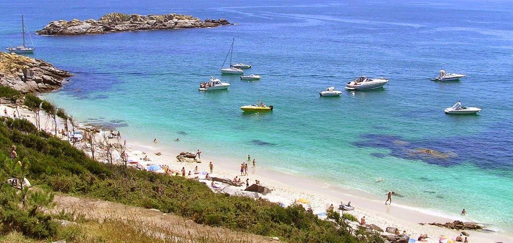 Las Islas Cies, turismo y viajes