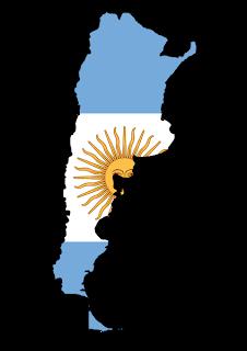 Mapa da Argentina
