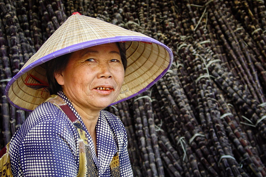 'cane seller' • hainan island, china 2004 © marc montebello all rights reserved