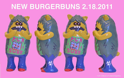 """Fur Sure"" Burgerbuns Resin Figure by Le Merde"